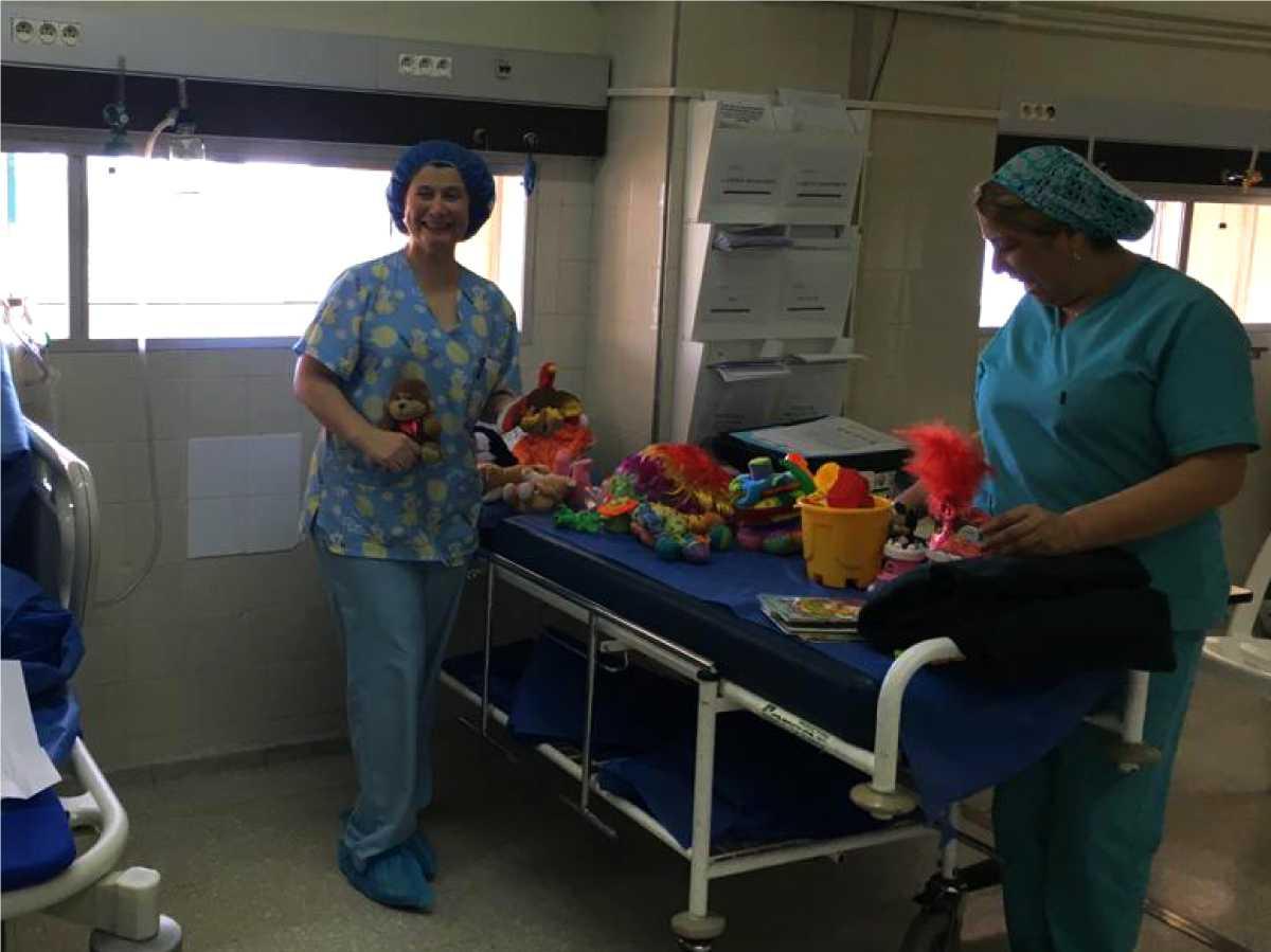 doctores con juguetes